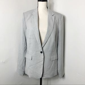 NWT Worthington Grey Single Button Blazer Jacket